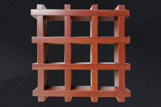 木紋鋁格柵吊頂